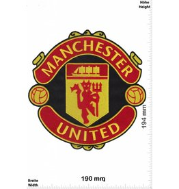 Manchester United  Manchester United - 19 cm - BIGMan United - Red Devils - Soccer UK England - Soccer Football - Soccer