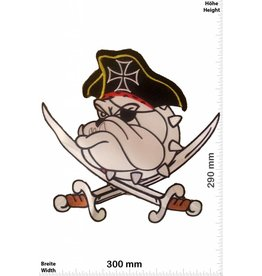 Pirat Pirate - Bulldogge - 30 cm - BIG Pirat- Bulldog - Dog- HQ