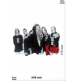Korn Korn - Band - 24 cm - BIGMusic