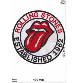 Rolling Stones Rolling Stones - Established 1962 - 19 cm