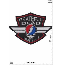 Grateful Dead  Grateful Dead - Since 1965 - 20 cm