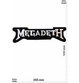Megadeth Megadeth - silver - 35 cm