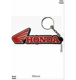 Honda HONDA - Flügel - schwarz -rot - black - red