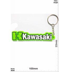 Kawasaki KAWASAKI Schrift - grün