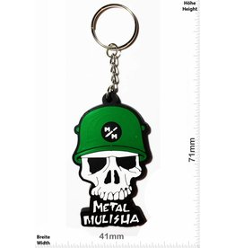 Monster Energy Metal Mulisha - Skull - Totenkopf - green - front