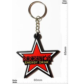 Rockstar Rockstar - Energy Drink - roter Stern