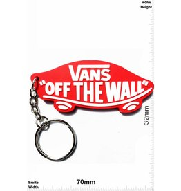 Vans Vans - Off The Wall - rot - Streetwear