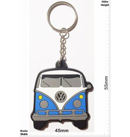 VW VW Bus - Bully - front - blue - vintage