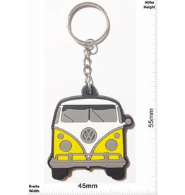 VW VW Bus - Bully - front - yellow - vintage