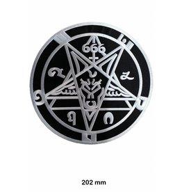 Pentagramm Pentagram - 666 - 20 cm - BIG
