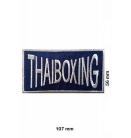 Boxen Thaiboxing- Muay Thai - blau