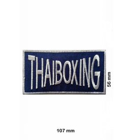 Boxen Thaiboxing- Muay Thai - blue