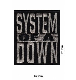 System of a Down System of a Down- silver gloss