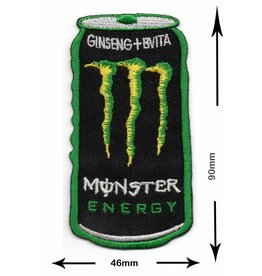 Monster Energy Drink M.  - Dose - green