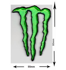 Monster Energy Drink M.  -  grün
