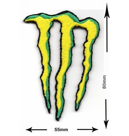 Monster Energy Drink M.  - gelb grün