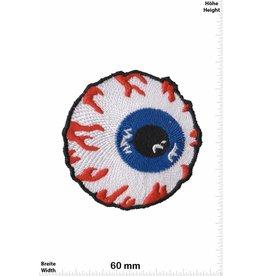 Santa Cruz Bloody Eye - blutiges Auge - klein - Santa Cruz Skateboards - Skater - Wheels - Extremsport - Skater