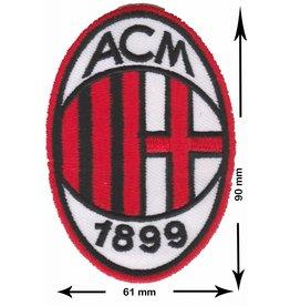 A.C. Mailand A.C. Mailand - A.C. Milan - Associazione Calcio Milan - i Rossoneri (The Red and Blacks) il Diavolo (The Devil) Casciavit  -  Soccer