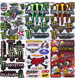 F4 Bögen 6 Sticker Sheets (F4) Energy M.  MIX 6 -