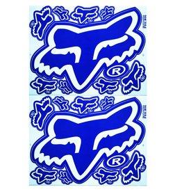 F3 Bögen 2 Aufkleberbögen 2x (F3) FOX blau-