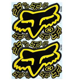 F3 Bögen 2 Sticker Sheets 2x (F3) FOX yellow/black-