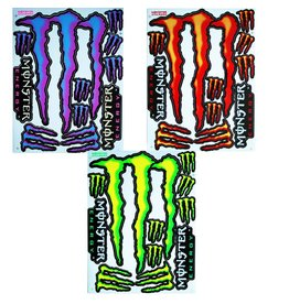 F3 Bögen 3 Aufkleberbögen 3x (F3) Energy Drink - Monster Energy - Mix 5