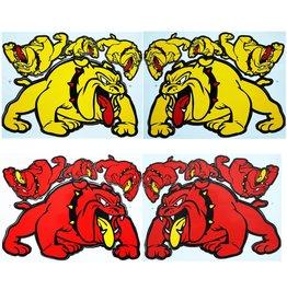 F3 Bögen 4 Aufkleberbögen 4x (F3) Bulldog Mix 1