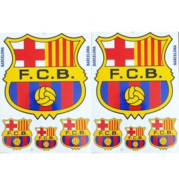 F3 Bögen 2 Sticker Sheets (F3) FC Barcelona - Spain Soccer - Football Club - Fußball