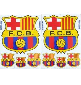 F3 Bögen 2 Sticker Sheets (F3) FC Barcelona - Spain Soccer - Football Club - Fußball