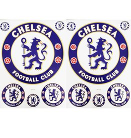 F3 Bögen 2 Sticker Sheets (F3) Chelsea Football Club - Chelsea London - Soccer UK - Soccer Football - Fußball