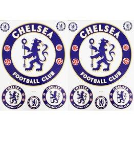 F3 Bögen 2 Sticker Sheets (F3) Chelsea Football Club - Chelsea London - Soccer UK - Soccer Football - Fußball
