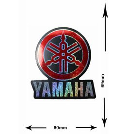 Yamaha Yamaha - 2 pieces  - glitter effect - red  -