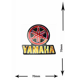 Yamaha Yamaha - 2 pieces  - metal effect - red -