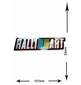 #Mix Ralli Art - 2 pieces  - metal effect -
