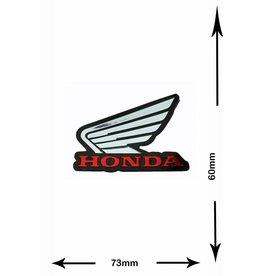Honda HONDA - 2 pieces  - metal effect -
