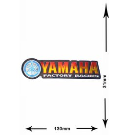 Yamaha Yamaha - Factory Racing - 2 Stück  - Metalleffekt -