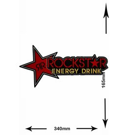 Rockstar Rockstar Energy Drink  - red - 2 pieces  - BIG