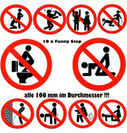 #Mix Funny bans- Stop - all 100 mm - no drinking - no sex - forbidden pee - not fart fart - NO SM - NO Blowjob - Stop Drunk - Drunk Forbidden