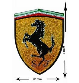 Ferrari Ferrari - 3D Sticker with Glitter  - BIG