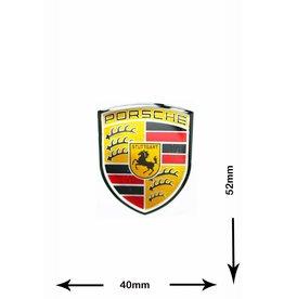 Porsche Porsche - 3D Sticker  - small -