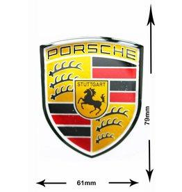 Porsche Porsche - 3D Sticker  - BIG -