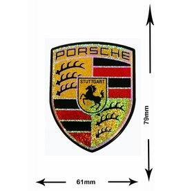 Porsche Porsche - 3D Sticker  mit Glitzer - BIG -