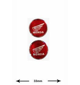 Honda Honda - 3D 2 pieces - red
