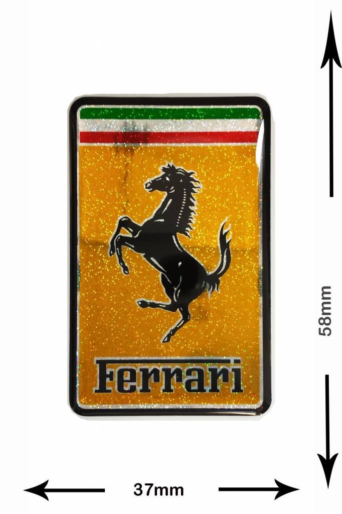 Ferrari Patch Aufnäher Aufnäher Shop Patch Shop Größter Weltweit Patch Aufnäher Schlüsselanhänger Aufkleber