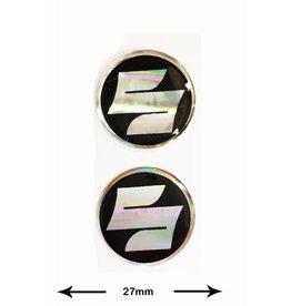 Suzuki SUZUKI - 3D round - 2 pieces - black