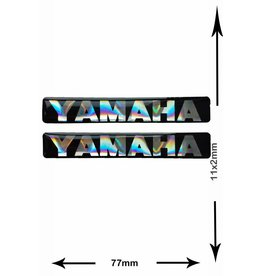 Yamaha YAMAHA - 3D square - 2 pieces - black