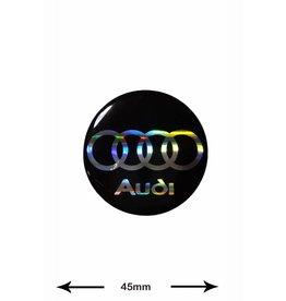 Audi Audi -  3D 1 piece - black