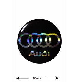 Audi Audi - BIG - 3D 1 piece - black