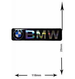 BMW BMW - 3D BIG - 1 Stück - Schwarz - Schrift und Logo - black