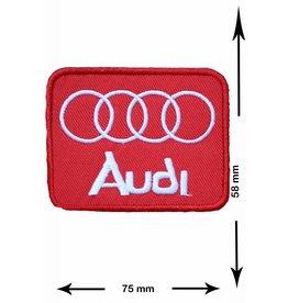 Audi Audi - rot - Quadrat